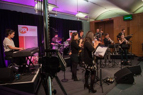 National Youth Jazz Collective joined by Dave Holland at Portcullis House Westminster